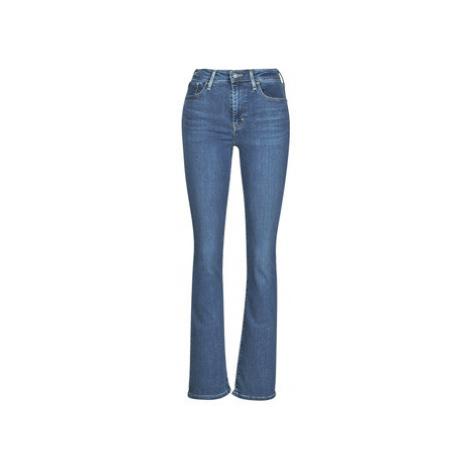 Levis 725 HIGH RISE BOOTCUT Modrá Levi´s