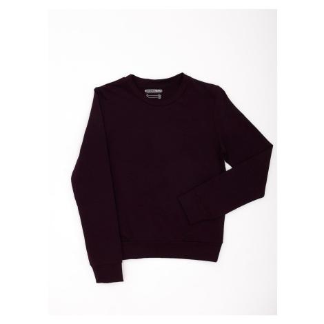 Basic dark purple youth sweatshirt