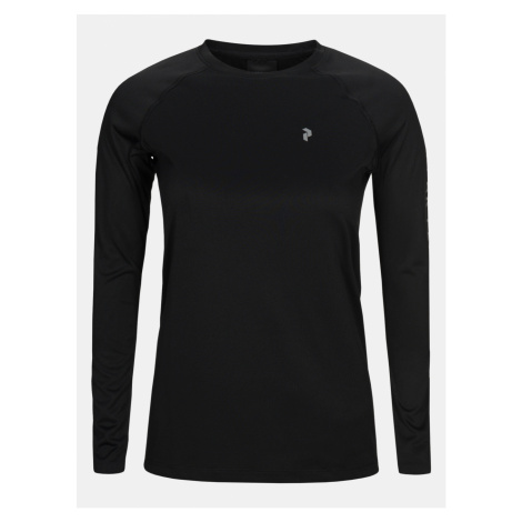 Tričko Peak Performance W Proco2 Long Sleeve - Čierna