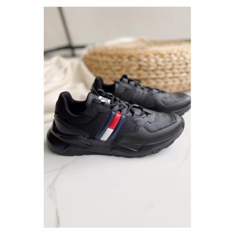 Tommy Hilfiger Tommy Jeans chunky tenisky pánske - čierne Veľkosť: 44