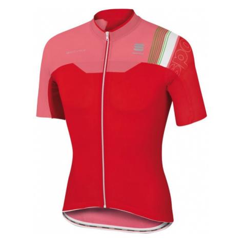Sportful B FIT PRO RACE JER červená - Cyklistický dres