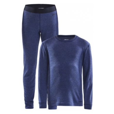 Set CRAFT Merino 180 JR 1907878-360200 tmavo modrá