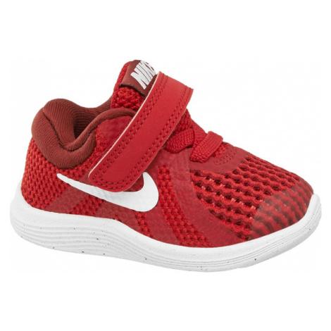 NIKE - Červené tenisky na suchý zips Nike Revolution 4