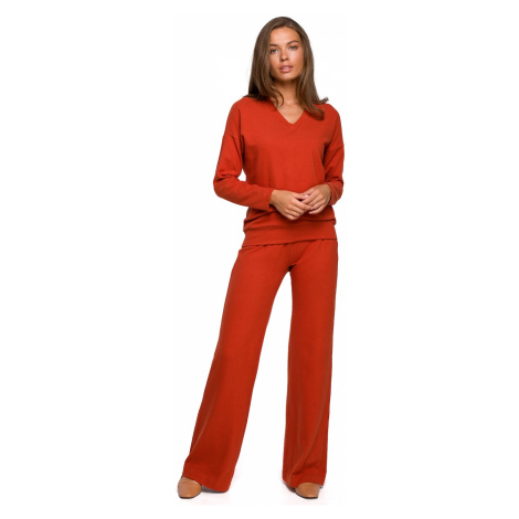 Stylove Woman's Trousers S249 Ginger