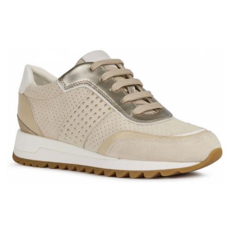 Geox D TABELYA A béžová - Dámska voľnočasová obuv