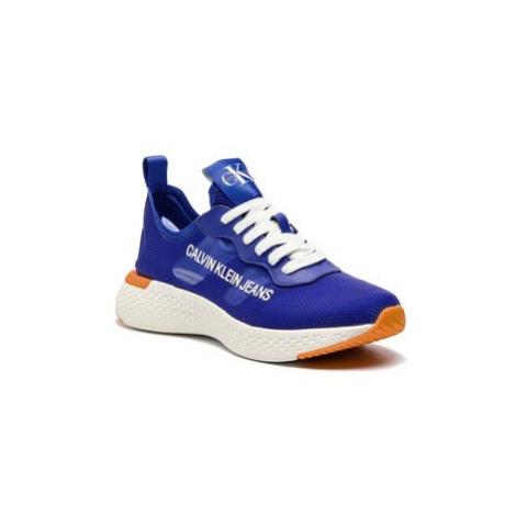 Calvin Klein Jeans Sneakersy Alban S0583 Tmavomodrá