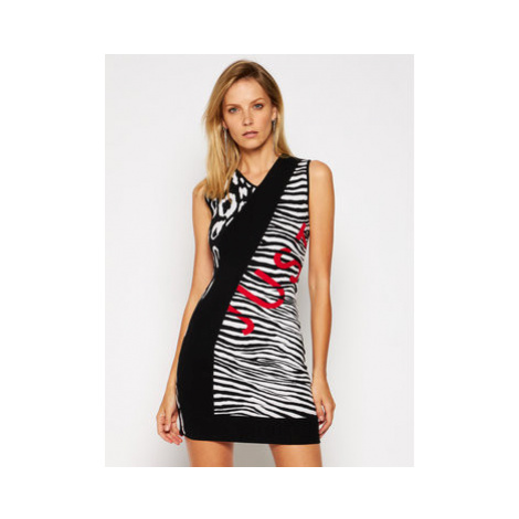 Just Cavalli Úpletové šaty S02CT1040 Farebná Slim Fit