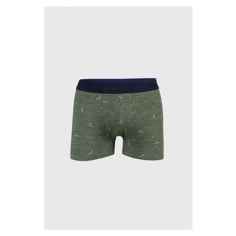 Zelené boxerky Hockey zelená Blackspade