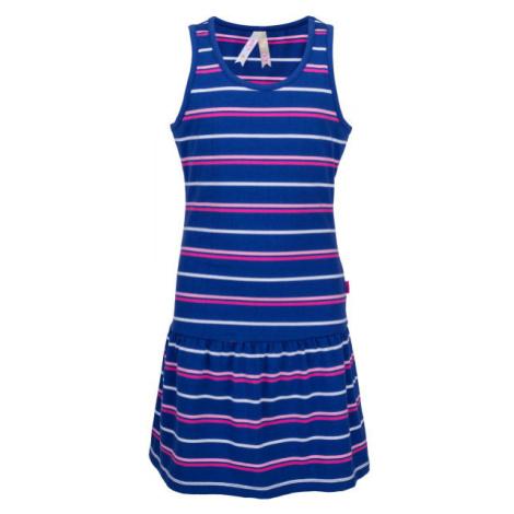 Lewro LAYA modrá - Dievčenské šaty