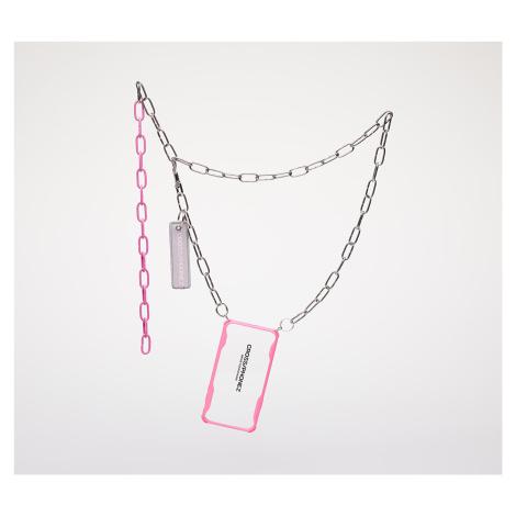 CROSS/PHONEZ Crossphone Chain Silver/ Pink