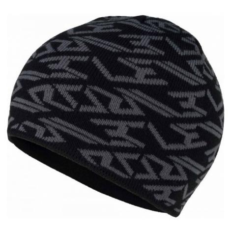 Lewro JASPER čierna - Chlapčenská pletená čiapka