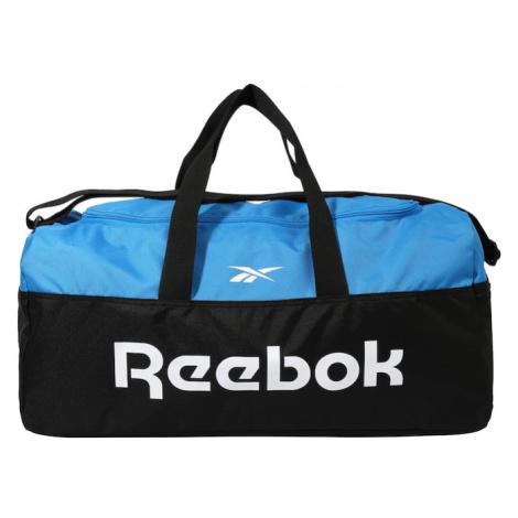 REEBOK Športová taška  biela / svetlomodrá / čierna
