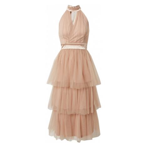 TFNC Kokteilové šaty 'CALDER'  púdrová