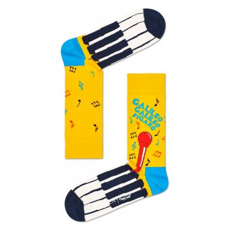 Happy Socks Queen 1 Sock-M-L (41-46) žlté QUE01-2000-M-L (41-46)