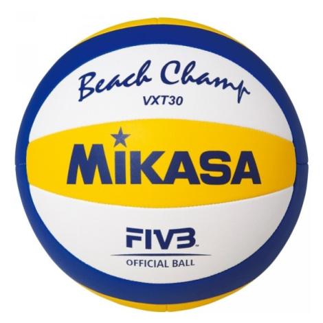 Mikasa VXT 30 žltá - Plážová volejbalová lopta