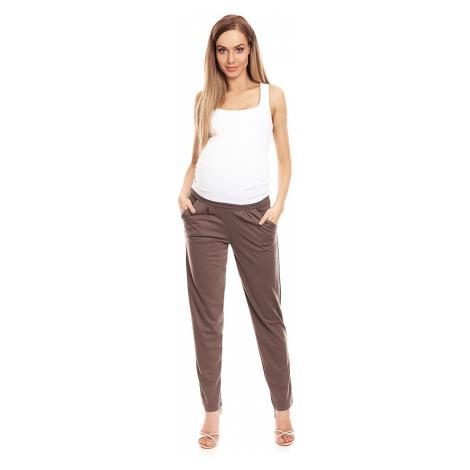 Hnedé tehotenské nohavice 0134 PeeKaBoo