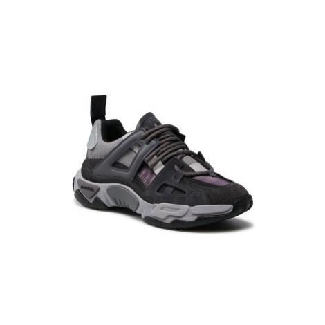 Diesel Sneakersy S-Kipper Low Trek II Y02352 P3824 T8157 Sivá