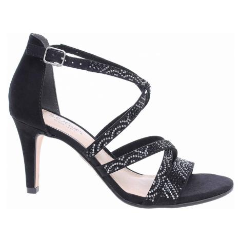 Dámská společenská obuv s.Oliver 5-28306-22 black 5-5-28306-22 001