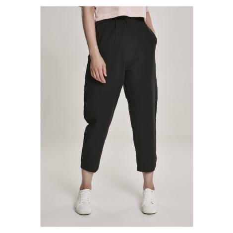 Dámske nohavice URBAN CLASSICS Ladies High Waist Cropped Pants