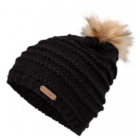 Willard BELINDA čierna - Dámska pletená čiapka