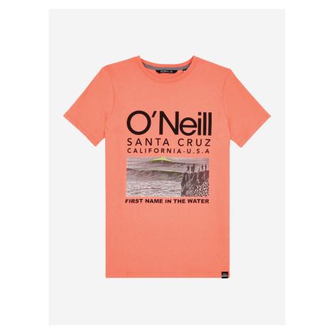 Tričko O'Neill Lb The Point T-Shirt Oranžová