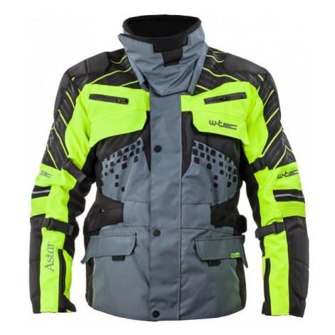 Moto bunda W-TEC Astair Farba čierno-šedo-zelená