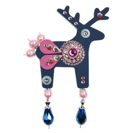Deers Veľký tmavo modrý Jelínek Abelia Rosa
