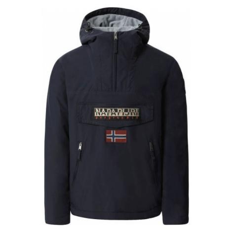 Napapijri RAINFOREST POCKET BLU MARINE čierna - Pánska bunda