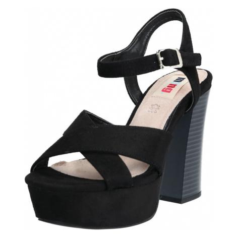 MTNG Remienkové sandále 'AMAZONAS'  čierna