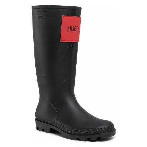 Gumáky HUGO - Rain Boot Zl 50424911 10224374 01 Black 001 Hugo Boss
