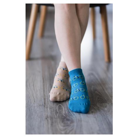 Barefoot ponožky krátke - Bicykle 43-46