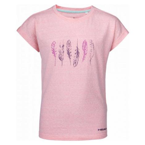 Head ELENA ružová - Detské tričko