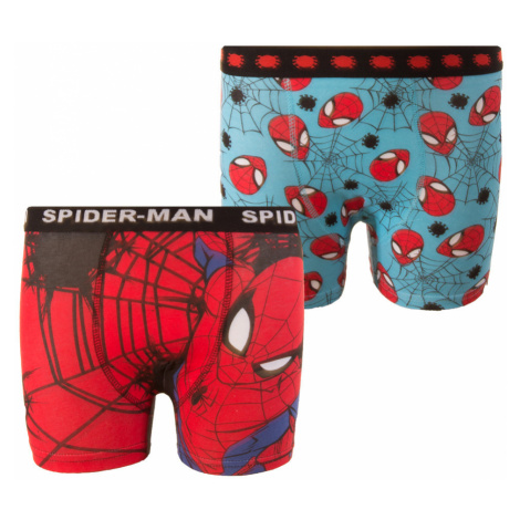 Boy's boxer briefs Spiderman 2P Character