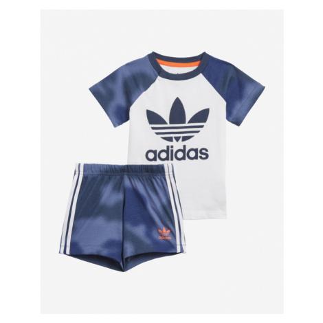 adidas Originals Camo Print Set detský Modrá Biela