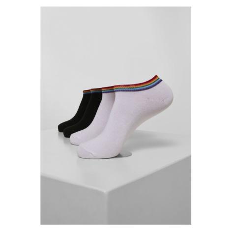 Rainbow Socks No Show 4-Pack Urban Classics