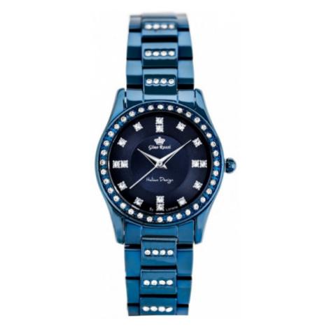 Granátové dámske hodinky Gino Rossi 10819B-6F1