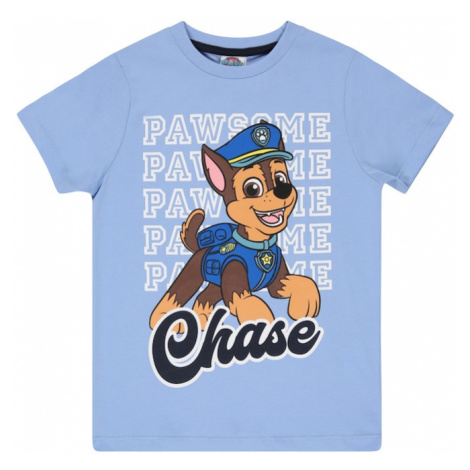 PAW Patrol Tričko  dymovo modrá / námornícka modrá / biela / hnedá / ružová