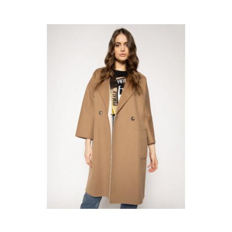 Weekend Max Mara Prechodný kabát Balia 50110107 Béžová Regular Fit