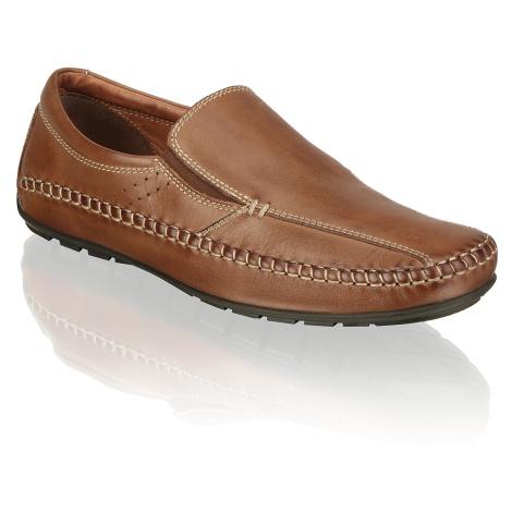 Master Class hladká koža Športová nazúvacia obuv