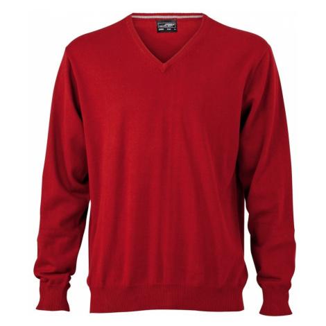 James & Nicholson Pánsky bavlnený sveter JN659