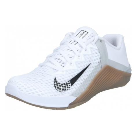NIKE Športová obuv 'Nike Metcon 6'  biela / čierna