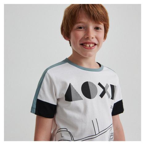 Reserved - Bavlnené tričko PlayStation - Biela