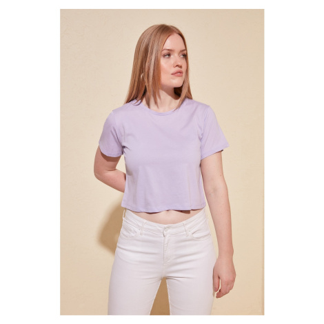 Dámske tričko Trendyol Crop-top