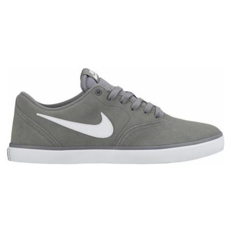 Nike SB CHECK SOLARSOFT sivá - Pánske tenisky