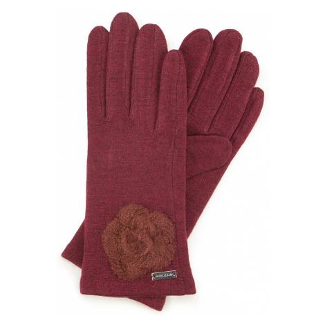 Dámske rukavice v bordovom prevedení Wittchen