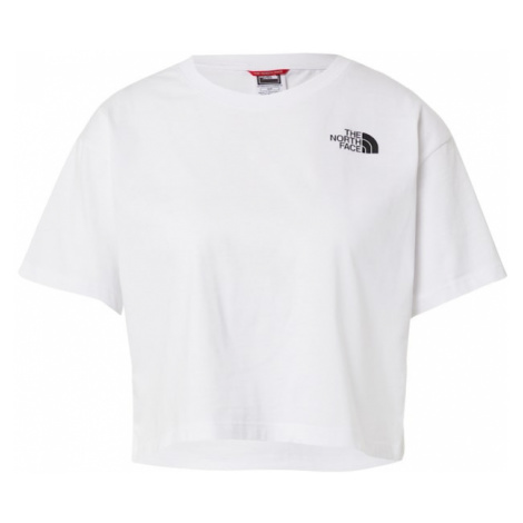 THE NORTH FACE Tričko  biela / čierna