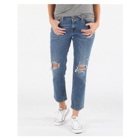 Diesel Belthy-Ankle-D Jeans Modrá
