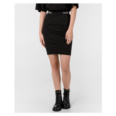 Calvin Klein Milano Sukňa Čierna