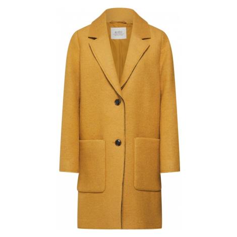 EDC BY ESPRIT Prechodný kabát  žltá