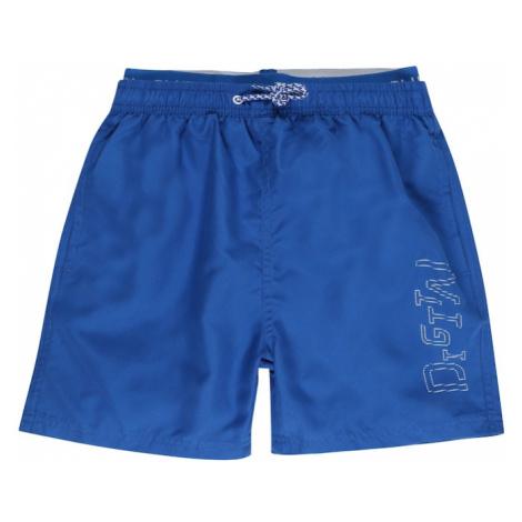 BLUE SEVEN Nohavice  kráľovská modrá / biela